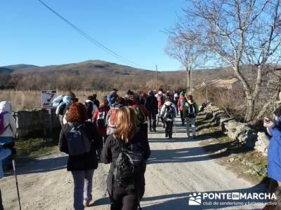 Puentes Medievales, Valle del Lozoya - Senderismo Madrid; zapatillas para senderismo